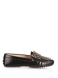 Tod's Gommini Bolle Studded Loafers