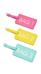 Gift Boutique Bags 1 2 3 Luggage Tag Box Set Multi