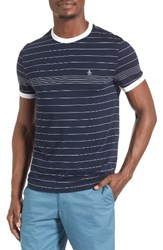 Original Penguin Men's Stripe Ringer T Shirt