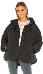 Free People Hailey Puffer In Black.