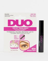 Ardell Duo Quick Set Striplash Adhesive Dark 5G Adhesive Dark Clear