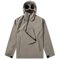 C.P. Company Soft Shell Pullover Goggle Anorak Grey