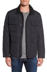 Marc New York Canal Quilted Barn Jacket Black