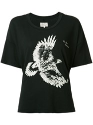 Current Elliott Bird Print T Shirt Black