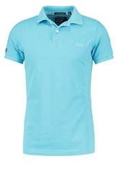 Superdry Polo Shirt New Turquoise