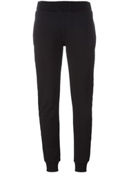 Mcq By Alexander Mcqueen Embroidered Logo Track Pants Black