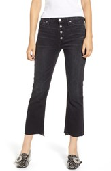 J.Crew Billie Exposed Buttons Demi Boot Crop Jeans Night Sky