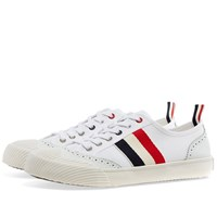 Thom Browne Low Brouge Sneaker White