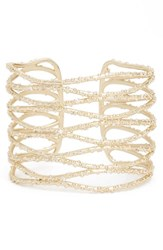 Kendra Scott Women's Nicolas Cuff White Cz Gold