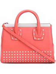 Thomas Wylde Studded Tote Red