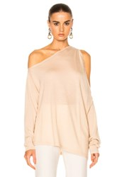 Dion Lee Falling Knit Sweater In Neutrals Pink Neutrals Pink