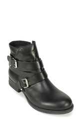 Women's Summit By White Mountain 'Nerida' Ankle Bootie Black Leather