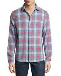 Faherty Belmar Reversible Shirt Multi