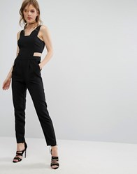 Vero Moda Cutout Jumpsuit Black
