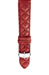 Michele Women's 16Mm Quilted Leather Strap Watch
