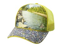 Prana Rio Ball Cap Bio Green Caps White