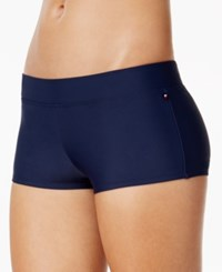 Tommy Hilfiger Swim Boyshorts Women's Swimsuit Navy