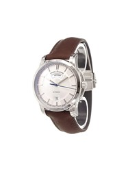 Maurice Lacroix 'Pontos Day Date Retro' Analog Watch Stainless Steel