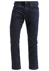 Lee Daren Zip Straight Leg Jeans Dark Indigo Dark Blue