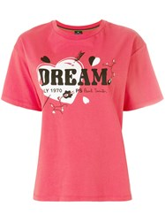 Paul Smith Ps By Dream Print T Shirt Red