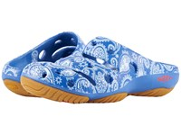 Keen Yogui Arts Blue Raven Paisley Clog Shoes