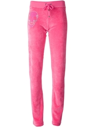 Philipp Plein 'Games' Track Pant Pink And Purple