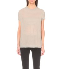 Allsaints Metor Knitted Top Grey Marl