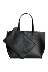 Handm H M Shopper Clutch Black
