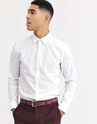 Rudie Long Sleeve Oxford Shirt White