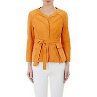Philosophy Di Alberta Ferretti Women's Suede Jacket Size 0 Us No Color