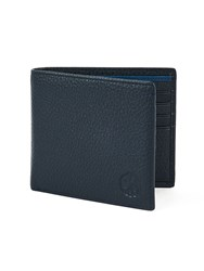 Pretty Green Leather Wallet Navy