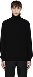 Paul Smith Black Cashmere Turtleneck
