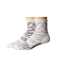 Adidas Creator 2 Pack Quarter White Light Grey Heather Solid Grey Light Onix Solar Orange Men's Quarter Length Socks Shoes