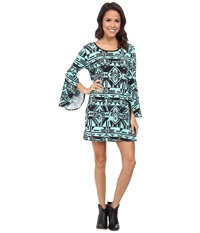 Scully Sara Dress Turquoise Women's Dress Blue