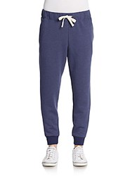 Original Penguin Fleece Jogger Pants Medieval Blue