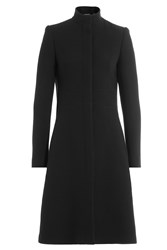 Alexander Mcqueen Virgin Wool Coat Black