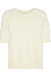 Michael Michael Kors Angora Blend Sweater White