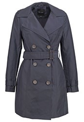 New Look Trenchcoat Navy Dark Blue