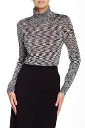 Raoul Fitted Turtleneck Black
