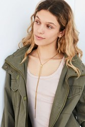 Urban Outfitters Austin Simple Bolo Necklace Gold