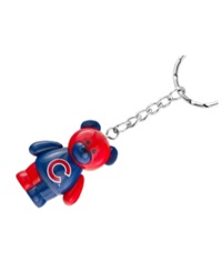 Forever Collectibles Chicago Cubs Bear Keychain Team Color