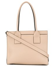 Brunello Cucinelli Logo Embossed Pebbled Leather Tote 60