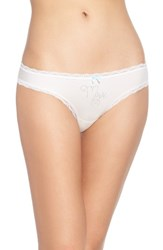Betsey Johnson Women's Bridal Bikini Mrs.