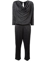 Diesel Cowl Neck Jumpsuit Black