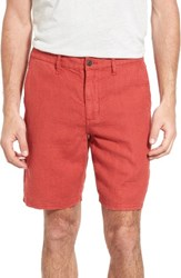 John Varvatos Men's Star Usa Linen Shorts Night Sky