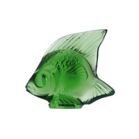 Lalique Fish Figure Green Meadow