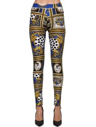 Versus By Versace Archive Printed Stretch Leggings Multicolor