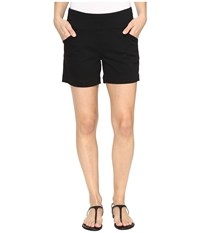 Jag Jeans Ainsley Pull On 5 Shorts In Bay Twill Black Women's Shorts