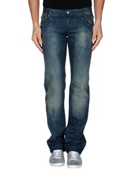 Dandg Denim Denim Trousers Men Blue