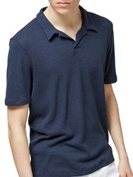Selected Homme Freddy Polo Shirt Dark Sapphire